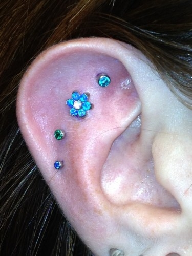 Fun Ear Project With Titanium Jewelry From Anatometal And NeoMetal